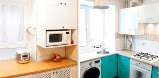 Maža virtuvė: kaip rasti vietą reikalingai buitinei technikai?