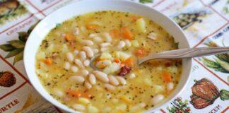 Soti pupelių sriuba. Tikra atgaiva vėsiomis dienomis