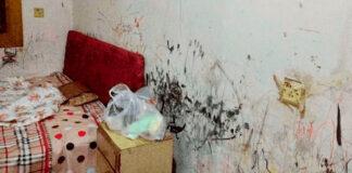 Studentas gavo baisų kambarį, tačiau savo rankomis jį atnaujino