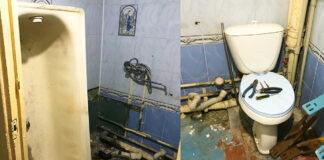 22 m. jaunuolis savo rankomis atnaujino mamos vonios kambarį
