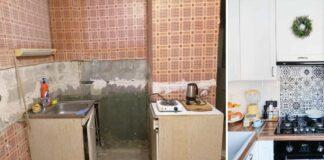 Madinga skandinaviško stiliaus virtuvė. Atlikite remontą patys