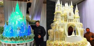 Kiekvienas šio konditerio tortas tikras meno šedevras!