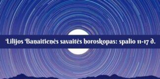 Lilijos Banaitienės savaitės horoskopas: kokios bus spalio 11-17 dienos?