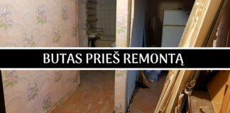 Vyras pats remontavo seną butą ir pavertė jį jaukiais namais