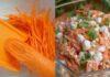 Sultingos morkų ir varškės salotos. Puiki ir greita vakarienė