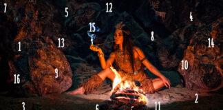 Testas: pasirinkite skaičių ir išmintingas šamanas atsakys į jūsų klausimą