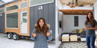 Namas atrodo mažytis, bet viskas, ko jums reikia, yra viduje!