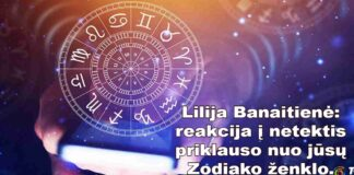 Lilijos Banaitienės horoskopas: kaip skirtingi Zodiako ženklai reaguoja į netektis?