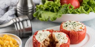 Mėsa įdaryti pomidorai su slaptu ingredientu