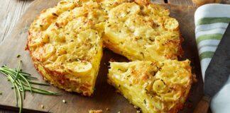 Pasakiškai skanus bulvių pyragas: paprastas receptas visai šeimai