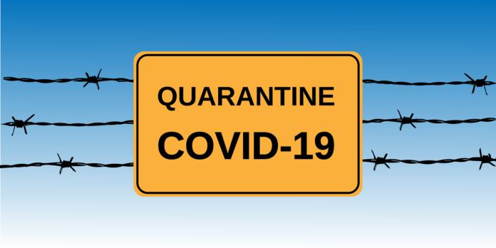 koronavirusas covid karantinas
