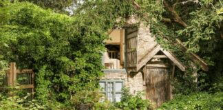 500 metų senumo namas atrodo visiškai apleistas. Bet pažiūrėkite į jo vidų!