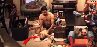 Žmona nufilmavo, kaip tėvas leidžia laiką su sūnumi, kai jos nėra namuose