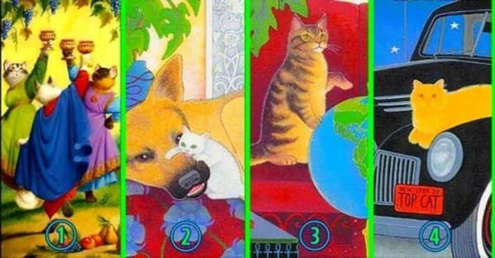 Pasirinkite katę ir sužinokite, ko jums dabar trūksta gyvenime