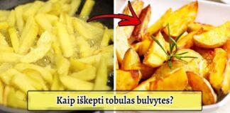 Slaptas bulvyčių receptas: kaip jas kepti, kad jos būtų itin traškios?