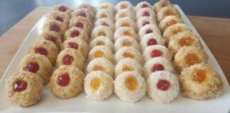 Traškūs migdoliniai sausainiai su uogiene, mūsų šeimoje jie gaminami jau 50 metų!