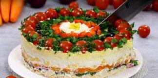 Sluoksniuotos salotos, kurios papuoš jūsų švenčių stalą