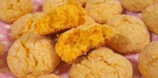Ryškūs morkų sausainiai. Sveikas ir skanus desertas