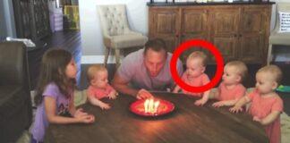 6 dukros padainavo tėčiui su gimtadieniu. O štai kokia jų reakcija, kai jis užpūtė žvakutes!