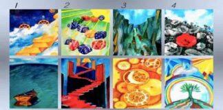 Testas: pasirinkite paveikslėlį ir sužinokite savo poreikius
