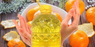 Šiltas aliejus su mandarinų žievelėmis padės jūsų rankų odai