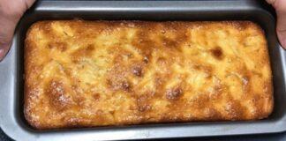 Paprasčiausias obuolių pyrago receptas. Kitą dieną pyragas bus dar skanesnis!