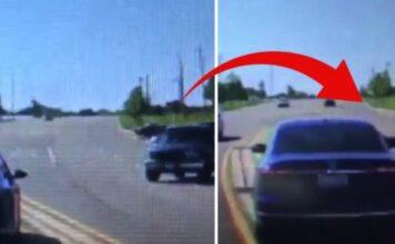 Vyras įšoko į važiuojantį automobilį. Pasirodo, tam, kad išgelbėtų vairuotojo gyvybę!
