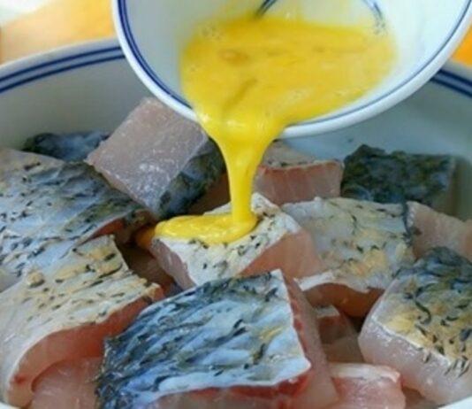 Nepaprastai skani žuvis su tofu sūriu. Išbandykite!