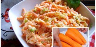 Morkų salotos su kiaušiniais: tiks ir vakarienei, ir pusryčiams!