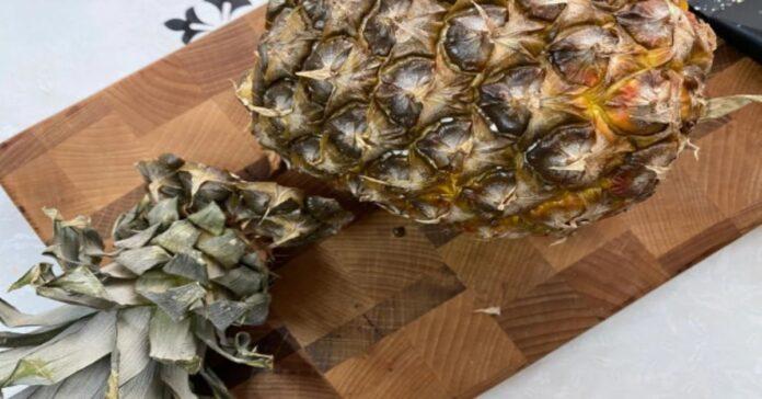 Paslaptis atskleista! Sužinokite, kaip tinkamai supjaustyti ananasus