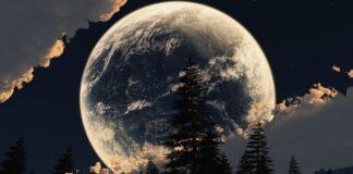 2021 m. Mėnulio kalendorius: kada patekės supermėnuliai?