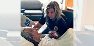 Sergantis senukas manė, kad mirs vienas, bet policininkė paėmė jį už rankos ir atskleidė savo paslaptį