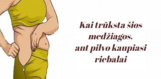 Šios medžiagos trūkumas gali būti priežastis, kodėl ant pilvo kaupiasi riebalai