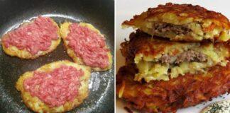 Baltarusiški bulviniai blynai su mėsa. Išbandykite šį tobulą receptą