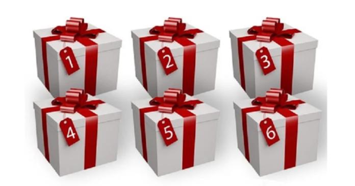 Pasirinkite dėžutę ir sužinokite, kokią dovaną jums paruošė likimas