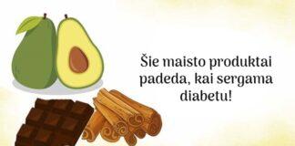 7 maisto produktai, kurie gali padėti sergant diabetu
