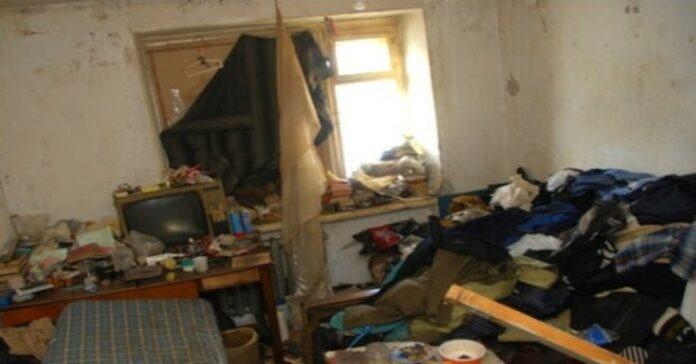 Studentė bendrabutyje gavo baisiausią kambarį. Pažiūrėkite, kaip jis atrodo po mėnesio