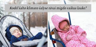 Kodėl šalto klimato šalyse tėvai migdo vaikus lauke?