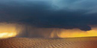smėlis audra dykuma