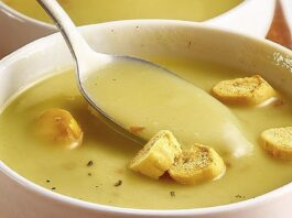 Sūrio sriuba, kurią uošvė verda prisimindama Šveicariją