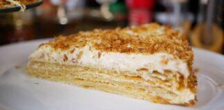 """Sumanios čigonės receptas: tortas """"Napoleonas"""" su kitokia tešla"""