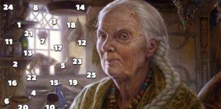 Pasirinkite skaičių ir sužinokite ką ragana atsakys į jūsų klausimą
