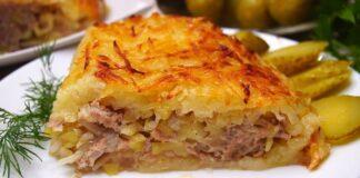 Mėsos užkepėlė su kopūstais- mėgstamiausias vyro patiekalas
