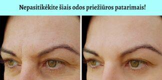 Aklai nepasikliaukite šiais patarimais, kaip sustabdyti odos senėjimo procesus
