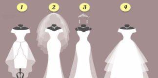 Pasirinkite suknelę ir sužinokite, kur įvyks susitikimas su jūsų išrinktuoju