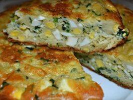 Pyragas su kiaušiniais ir svogūnais daugiafunkciniame puode