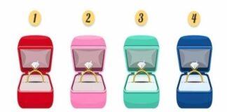 Pasirinkite dėžutę su žiedu ir sužinokite, kokia moteris esate