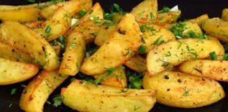 Graikiškos bulvės. Tokios skanios, kad valgysite jas vienas!
