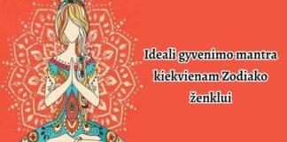 Ideali gyvenimo mantra kiekvienam Zodiako ženklui