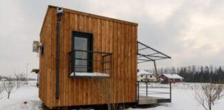 Šis namelis yra tik 22 kvadratinių metrų ploto, tačiau niekas neatsisakytų jame gyventi